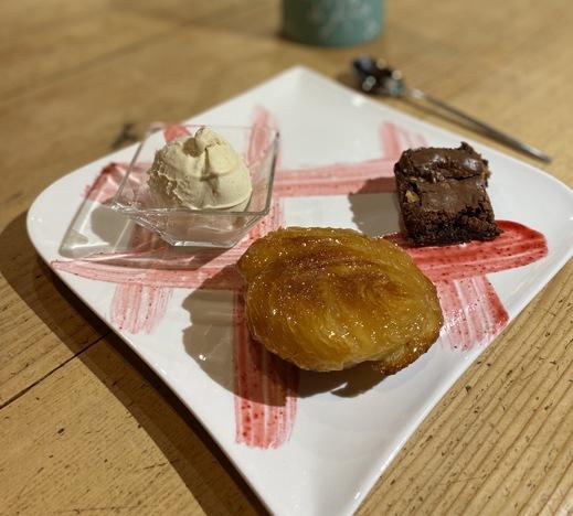 image dessert tables d'hôtes à la jument verte